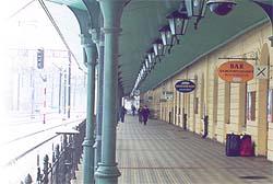 Железнодорожный вокзал в Кракове