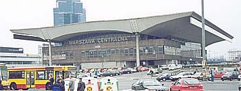 """Вокзал """"Варшава-Центральная"""""""