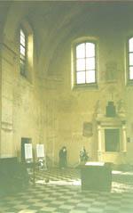 Внутири синагоги Исаака в Кракове