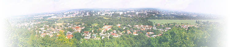 Панорама, открывающаяся с площадки кафе RMF